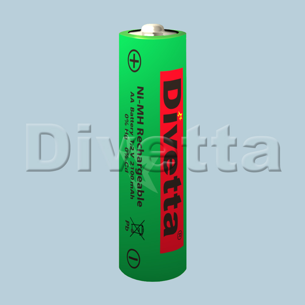 Rechargeable battery NiMH HR6